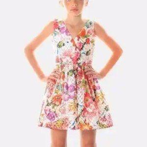 NWOT Alivia Simone floral Marni Full-Skirted dress